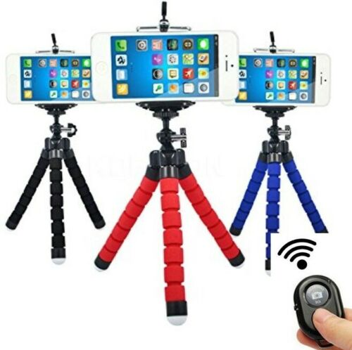Flexible Smartphone Tripod Bluetooth Remote for Phones Cell Phone Cell Phone Accessories