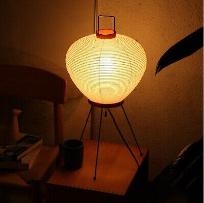 Isamu Noguchi Akari 3A Lamp Stand Light Lantern Washi Japanese Handcraft