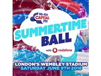 2x Summertime Ball - Capital FM - Golden Circle tickets