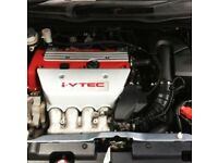 Used, 2.0 Honda Covic Engines Type R + K20A2 200 BHP 2001-2006 Engine for sale  Clowne, Derbyshire