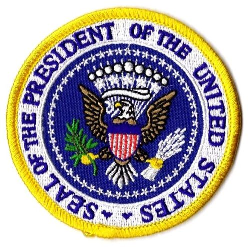 PRESIDENTIAL SEAL - IRON-ON PATCH