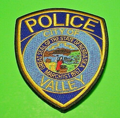 """VALLEY  NEBRASKA  MARCH 1st 1867  NE  5""""  POLICE PATCH  FREE SHIPPING!!!"""