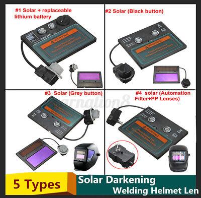 5 Types Auto Solar Darkening Welding Helmet Lens Goggles Mask New New