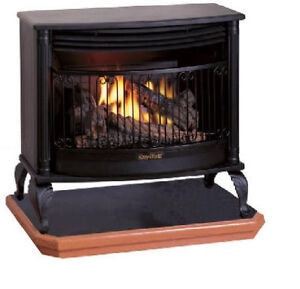 25k Btu Gas Stove Dual Fuel Gas Fireplace Heater Propane Or Natural Gas