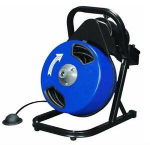 HOC - 50 FOOT DRAIN CLEANER WITH POWER FEED + FREE SHIPPING + 90 DAY WARRANTY