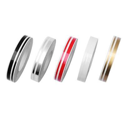 """1/2"""" Roll Vinyl Pinstriping Pin Stripe Double Line Car Tape Decal Stickers 12mm 1"""