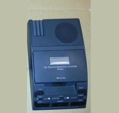 Philips LFH 720 Desktop Analog Mini Cassette Transcription