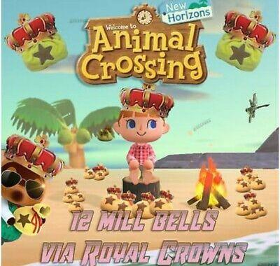 ANIMAL CROSSING NEW HORIZONS Gaming Bell.s 12 Million