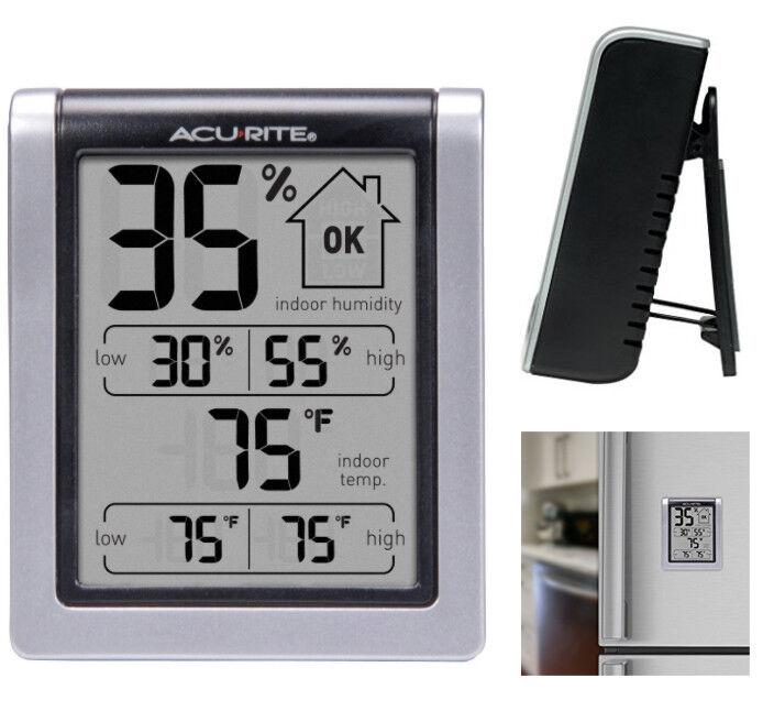 Digital Humidity Gauge Monitor Indoor Weather Station Temperature Meter Home NEW