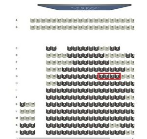 Star Wars Rogue One - 4 tickets to opening night - assigned seat