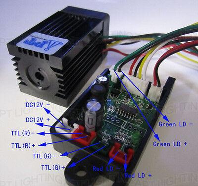 Steady 200mW 532nm green laser module TTL continuous work DIY laser Lighting  200 Mw Green Laser