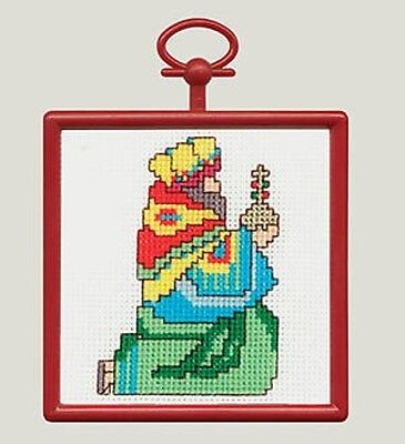 Counted Cross Stitch Kit WISE MAN; Christmas Ornament!  Wall-Hanging!