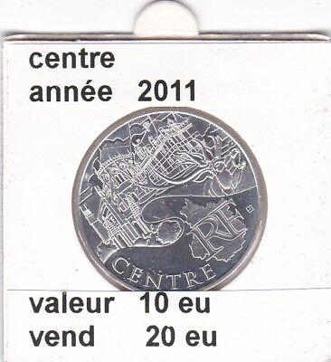 va )pieces de 10 eu centre  2011  50%  argent