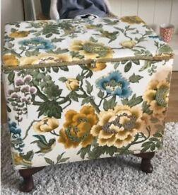 Vintage sewing Box Retro