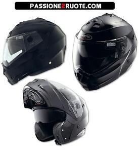 Casco-modulare-moto-Caberg-Duke-Smart-Black-misura-taglia-M-Medium