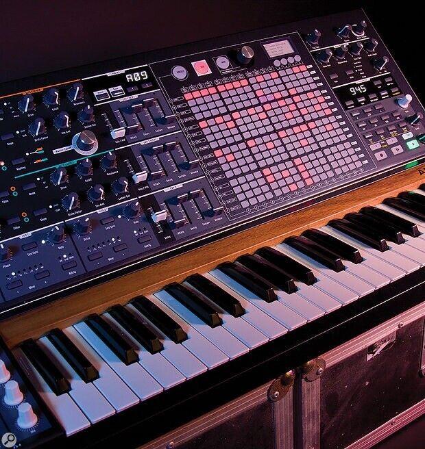 Arturia Matrixbrute analog synthesizer