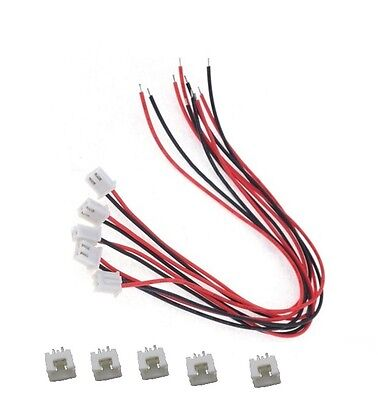 10 Sets XH2.54 2Pin 1007 24AWG Single End 15cm Wire To Board Connector new  ()