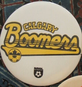 NASL button badges - Blizzard, Boomers, Sounders, Tornado, etc.