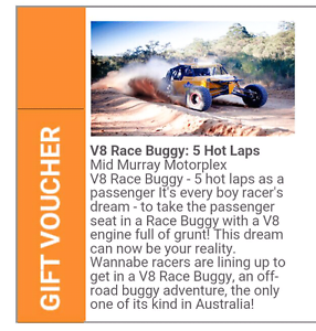 Off-road rush experience Munno Para West Playford Area Preview