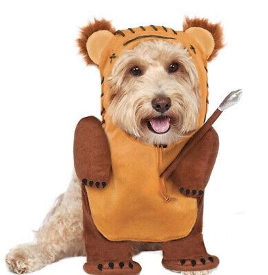 Star Wars Running Hunter Ewok Pet Dog Cat Halloween Costume XL