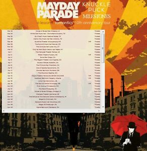 Mayday Parade - A Lesson In Romantics 10th Anniversary Tickets