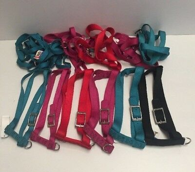 """Lot Of 14 Coastal Pet Products 28"""" Adjustable Nylon Dog Harness NWT Made In USA"""