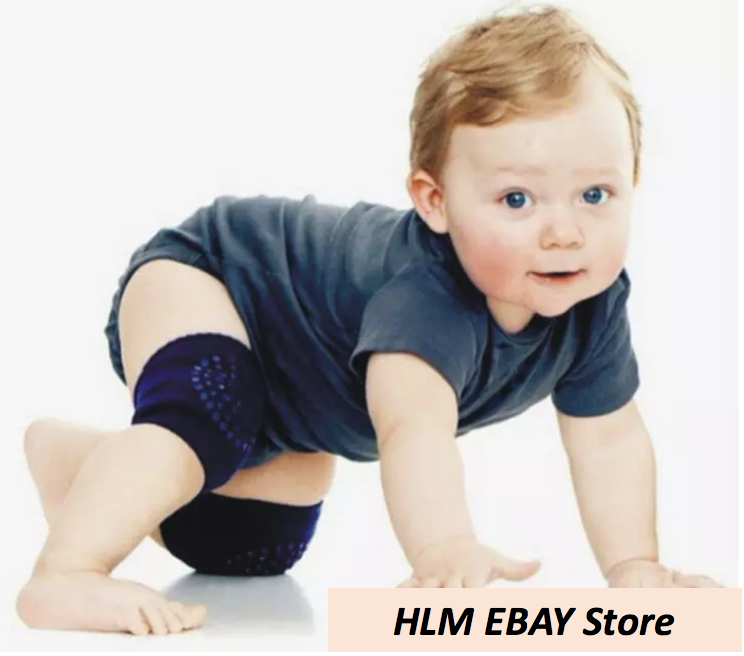 Kids Baby Anti-slip Soft Elbow Cushion Crawling Knee Pad Infant Toddler Safety F