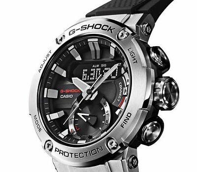 Casio G-Shock G-Steel Solar Bluetooth Watch Reloj Hombre 200M GST-B200-1AER