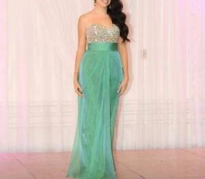 Gorgeous green gown for sale
