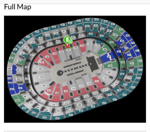 U2 MONTREAL -RED -SEC. 101-ROW S - 2 Tickets
