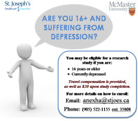 Participants Needed for Depression Research!