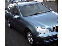 ((( DIESEL- ESTATE )))* MERCEDES BENZ C220 CDI AVANTGARDE AUTO DIESEL*LARGE BOOT*MOT- AUG 2018*