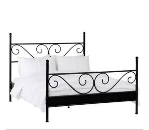 DOUBLE BED FRAME $120.00 NEED GONE