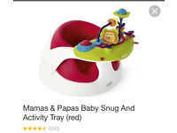 Mamas and papas bumboo with tray toy