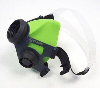 BLS Atemschutz Halbmaske Maske Gasmaske Mehrwegmaske Atemmaske +3 Filter Neu