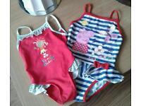 Children's swimming costumes