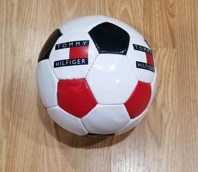 Vintage Tommy Hilfiger Store Display Soccer Ball NOS Deadstock Tommy Flag Ball