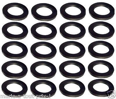 Lot De 20 Joints Noirs 1/2 Gaz Raccord Bouteilles Butane Propane Sécurité