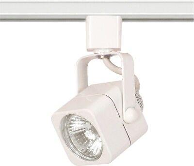 1 Light Mr16 120v Track - Nuvo - 1 Light - MR16 - 120V Track Head - Square White - TH312