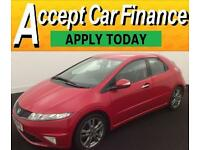 Honda Civic 1.8 i-VTEC 2010MY Si FROM £20 PER WEEK!