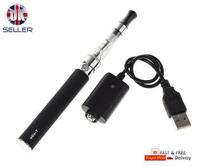 ELECTRONIC E-CIGARETTE BLACK VAPE PEN SHISHA HOOKAH KIT 650 MAH BATTERY CHARGER