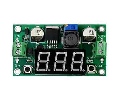 Dc Dc Buck Step Down Converter Module Lm2596 Voltage Regulator Led Voltmeter