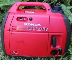 Honda Eu20i generator  and cover