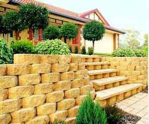 Retaining Walls - sleepers or blocks - ALL Adelaide #FREE QUOTES Hope Valley Tea Tree Gully Area Preview