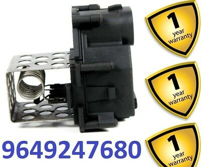 Citroen C1 C4 2004-13 Radiator Cooling Fan Resistor 9649247680 1308CN 1308.CN
