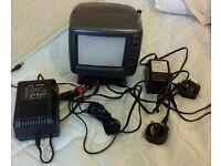 Goodmans c530 portable tv