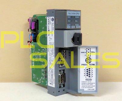 Allen Bradley 1747-l541 C  Slc500 504 Processor Frn 10