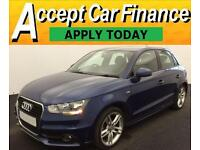 Audi A1 1.6TDI ( 105ps ) Sportback 2013MY S Line FROM £59 PER WEEK!