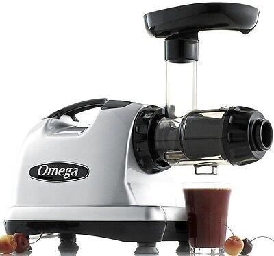 Omega J8006 Nutrition Center Juicer Comercial Masticating Fruit Vegetable Sweet