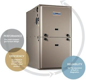 High Efficiency Furnace Air Conditioner Heating Cooling Upgrade Cambridge Kitchener Area image 1